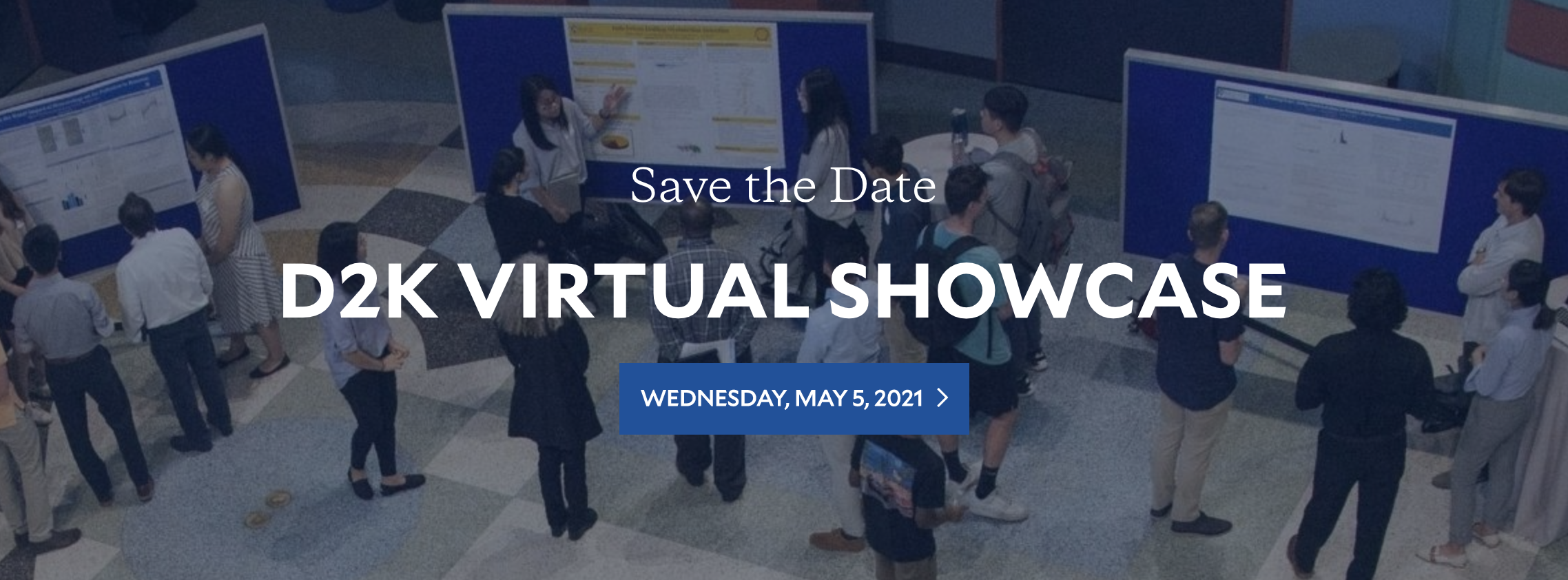 Register for D2K Virtual Showcase - Spring 2021
